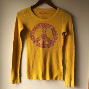 Lucky Brand thermal top XS
